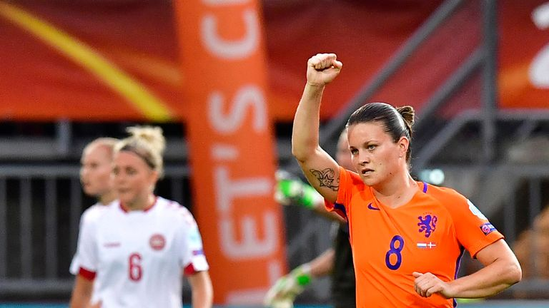Sherida Spitse scored the winner for the Netherlands