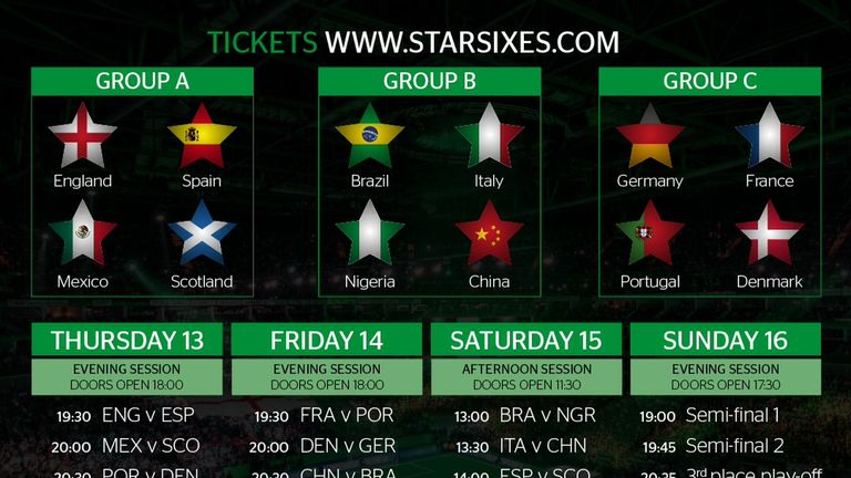 Live Star Sixes