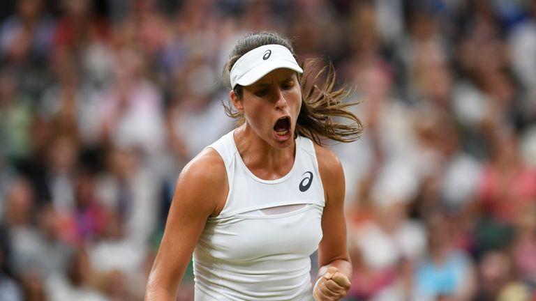 Johanna Konta gripped the Wimbledon crowds as she reached the semi-finals