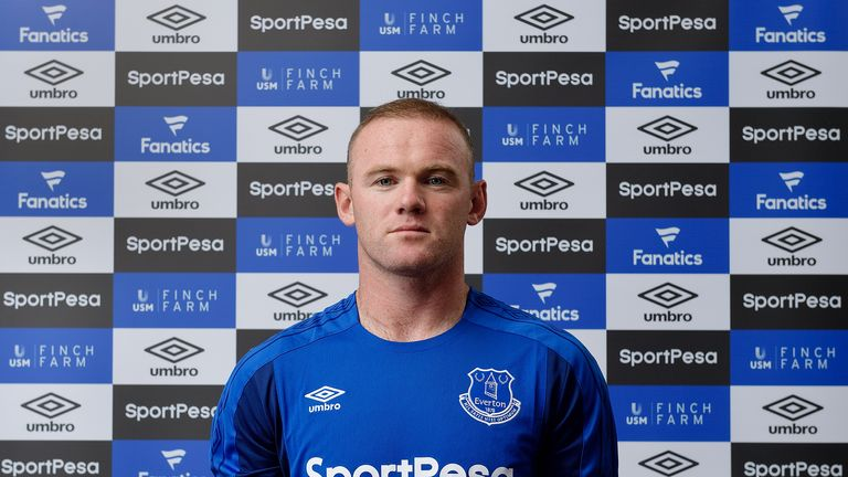 Wayne Rooney has completed his move back to Everton
