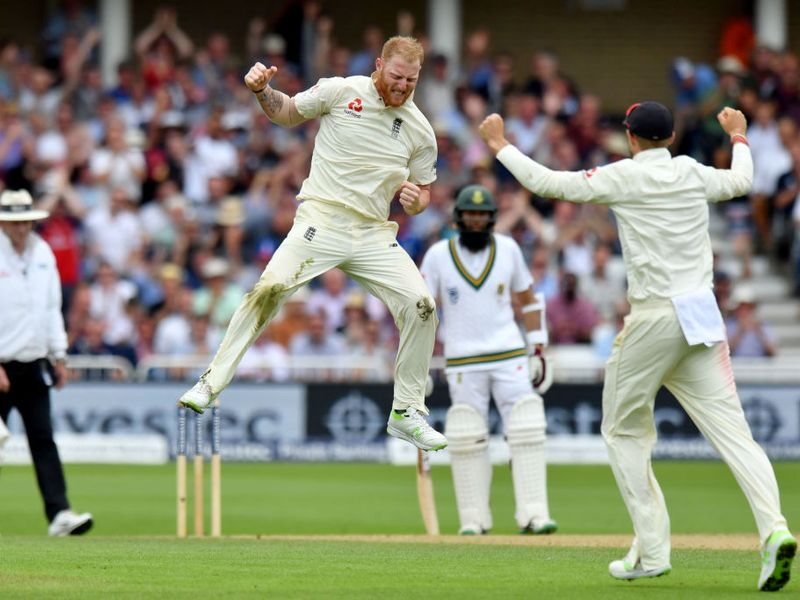 Ben Stokes took a couple of wickets