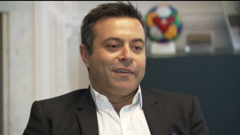 Andrea Radrizzani says he had to act to arrest Leeds' slide down the Championship