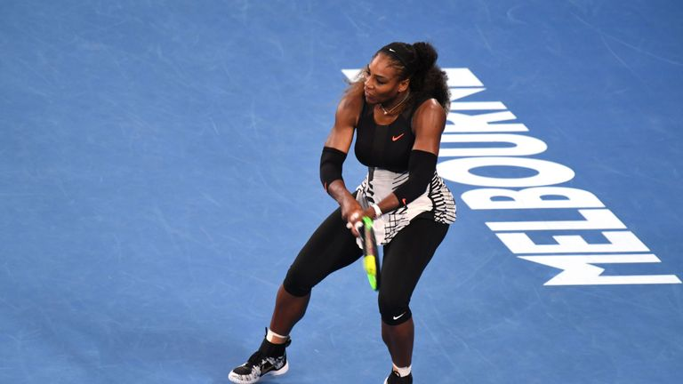 Williams is hoping to defend her Australian title in January