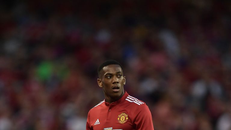 Anthony Martial is reportedly attracting interest from Spurs