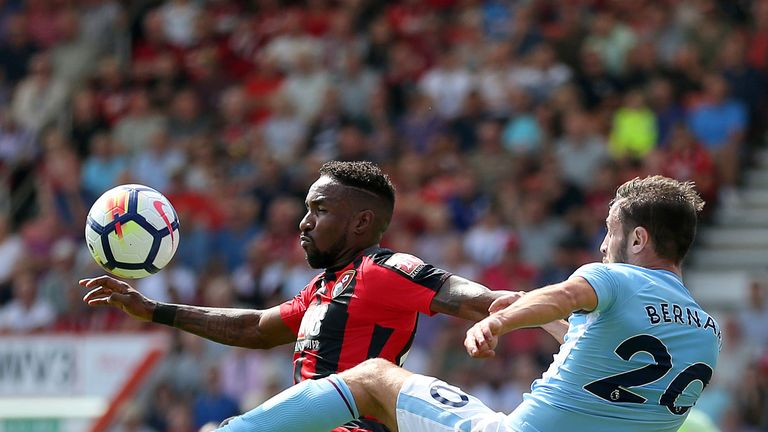 Defoe played 73 minutes against Man City at the weekend