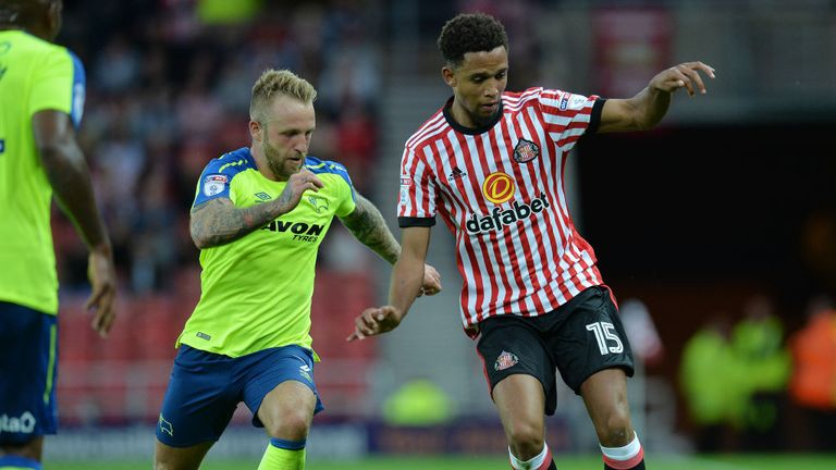 Brendan Galloway has enjoyed limited game time at the Stadium of Light