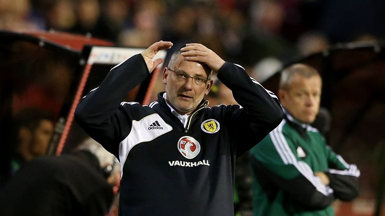 Craig Levein was unable to guide Scotland to a major tournament during his tenure