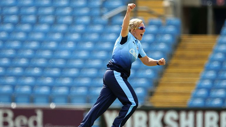 Former Yorkshire player Danielle Hazell has been named head coach
