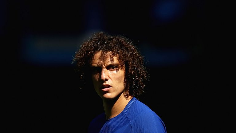 David Luiz is suspended for the trip to Stoke this weekend