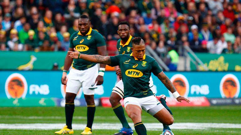 Elton Jantjies kicked 17 points at the Nelson Mandela Bay Stadium
