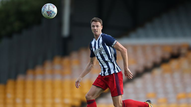 Evans has been linked with a move away from the Hawthorns