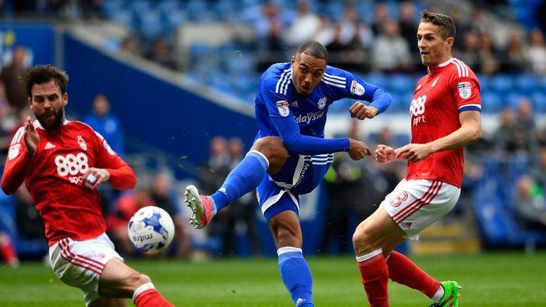 Cardiff went top of the Championship following the win at home to much-fancied Aston Villa