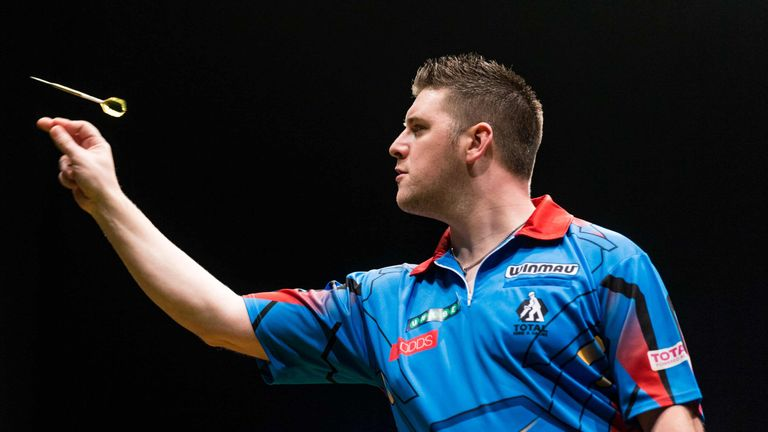 Daryl Gurney is the only home hope at the tournament in Ireland
