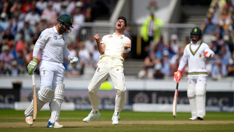 James Anderson had a fine series, picking up 20 wickets