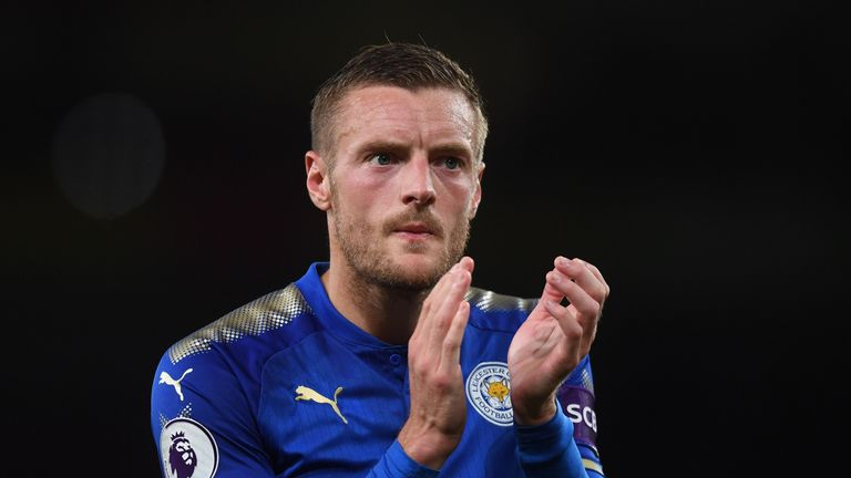 Jamie Vardy is fit to feature on Tuesday