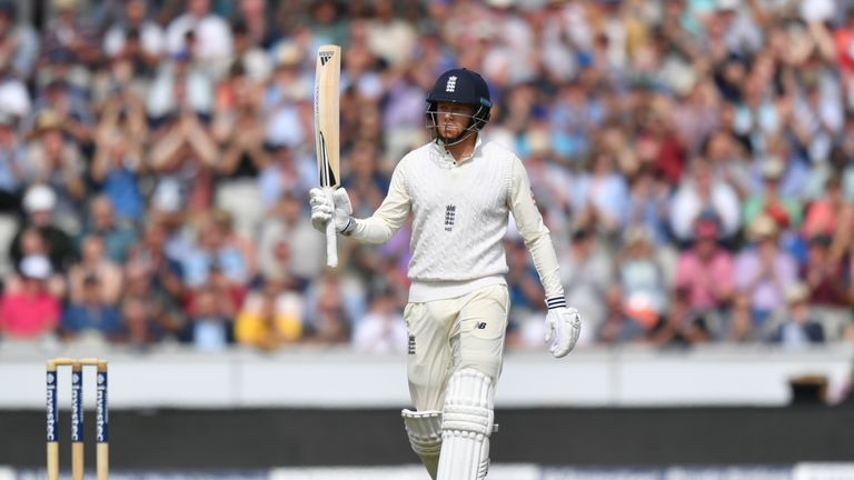 England's Jonny Bairstow could not quite convert his 50 in to three figures
