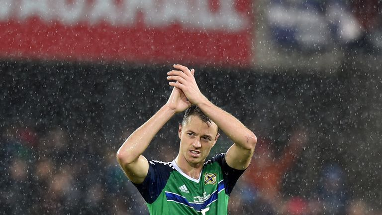 Jonny Evans is amongst Northern Ireland's regular starters and featured for his nation in their run to the knockout stages at Euro 2016