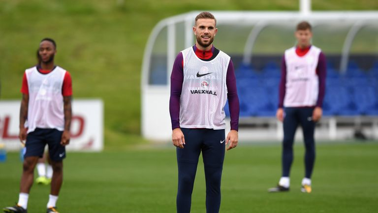 Jordan Henderson says England are setting their sights high