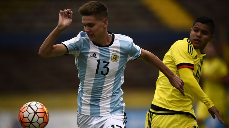 Foyth is a regular in Argentina's U20 side