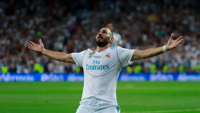 Karim Benzema has four years left to run on his current Real Madrid contract