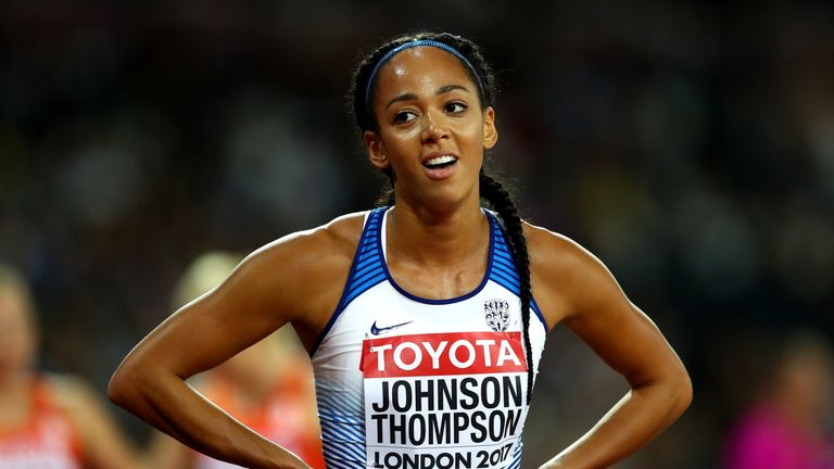 Katarina Johnson-Thompson advanced to the high jump final