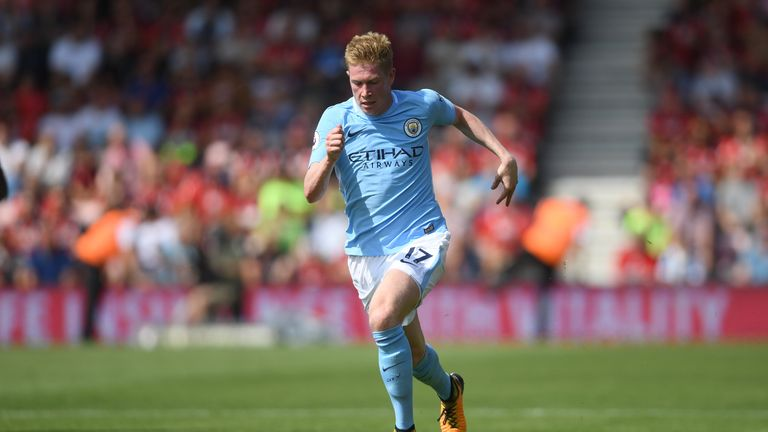 Kevin De Bruyne's agent will use Neymar's PSG deal as a basis for negotiations with Manchester City
