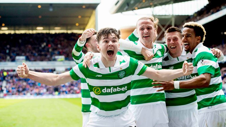 Tierney won four Scottish titles and two Scottish Cups with Celtic