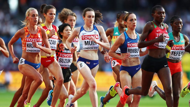Laura Muir qualified for the 5,000m final, along with fellow Scot Eilish McColgan