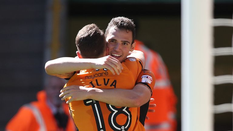 Wolves sit top of the Sky Bet Championship table