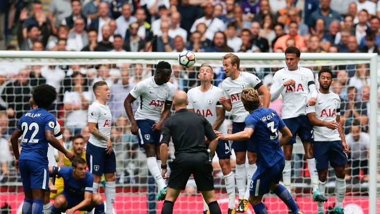 Spurs lost their first Premier League home game of the season to Chelsea