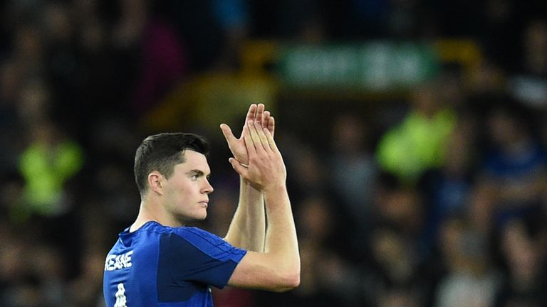 Michael Keane is fully fit for Everton and could start at Newcastle