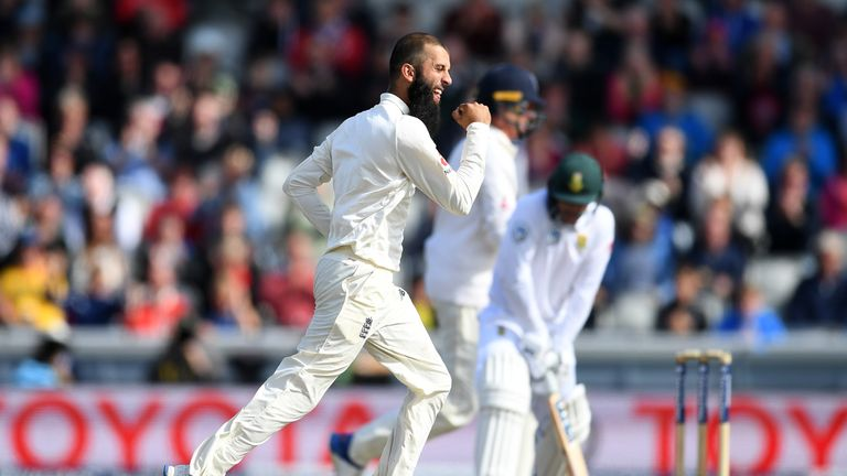 Moeen Ali was named Player of the Series and tops Bob's ratings