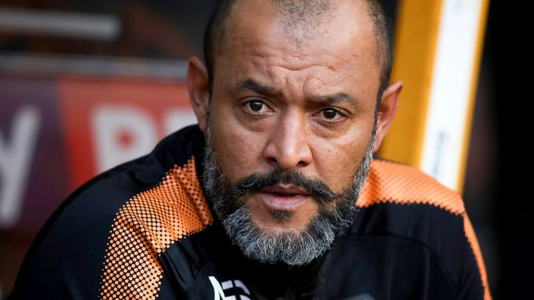Wolves head coach Nuno Espirito Santo also managed Jota during the player's loan spell at Porto last season