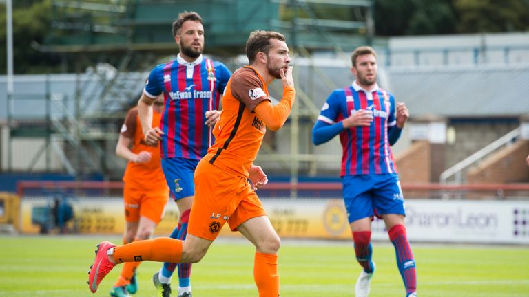 In-form forward Paul McMullan scored Dundee United's winner