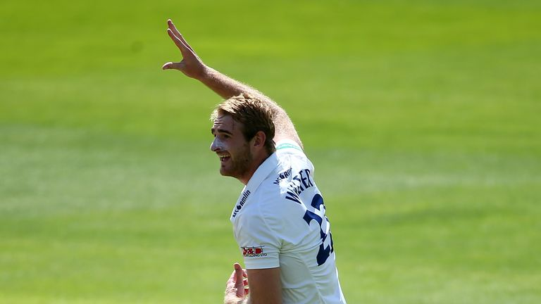 Essex's Paul Walter is also among the five promising fast bowlers who have been selected for this winter's pace programme