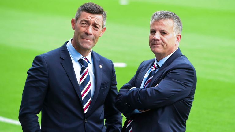 Pedro Caixinha (left) was sacked earlier this month