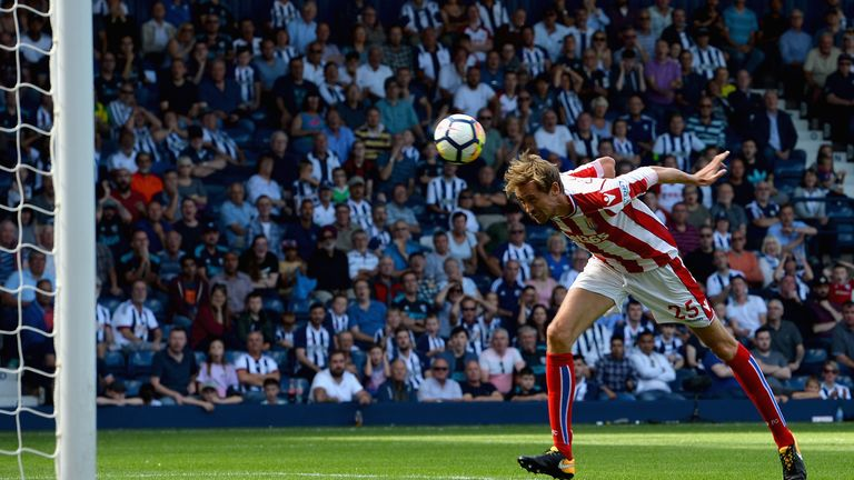 Peter Crouch is the tallest outfield player in the Premier League