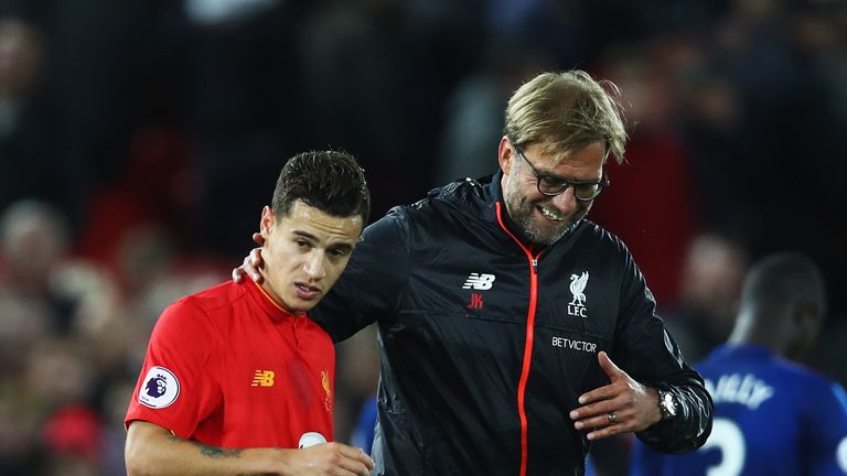 Philippe Coutinho handed in a transfer request on Friday
