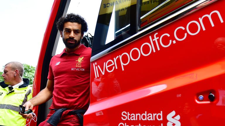 Liverpool's Mohamed Salah would go on to be one of the signings of the summer