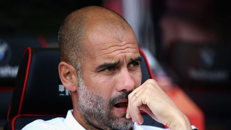 Guardiola's side got a 97th-minute winner at Bournemouth on Saturday