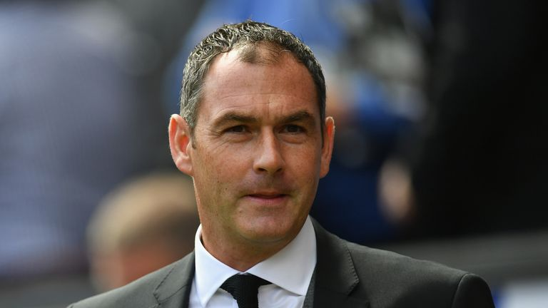 Paul Clement's Swansea lost 4-0 at home to Manchester United last weekend