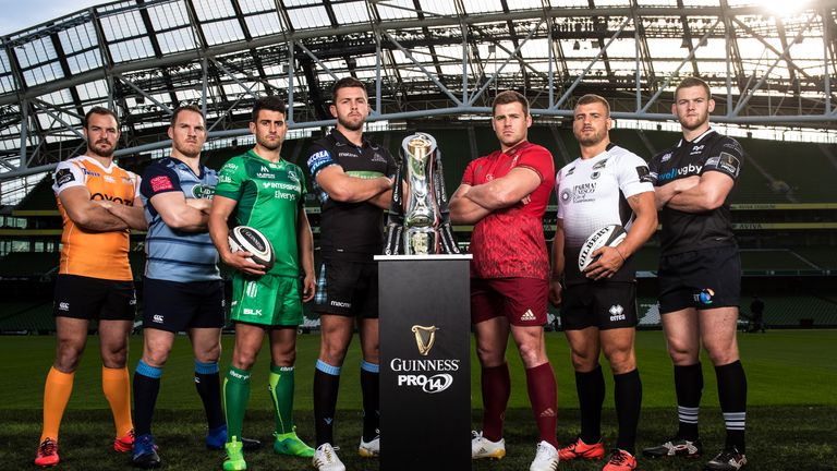 Who will come out on top in the 2017/18 PRO14 Conference A?