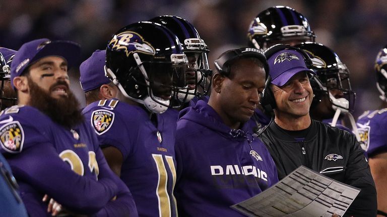 Sky Sports' Neil Reynolds caught up with the Baltimore Ravens at their training camp