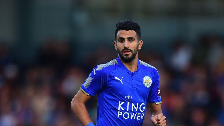Riyad Mahrez played as Leicester lost their opening game at Arsenal