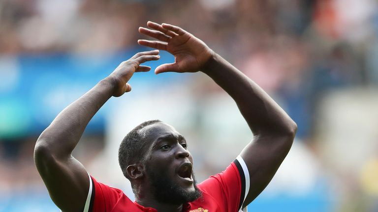 Romelu Lukaku scored in his opening two games for Man Utd after his summer move