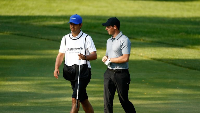 Rory McIlroy and new caddie Harry Diamond got their partnership off to an encouraging start