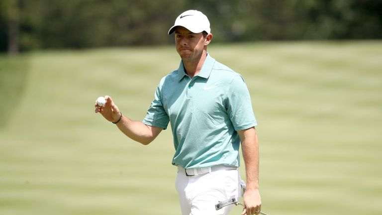 McIlroy feels his game is in great shape ahead of the PGA Championship