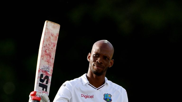 Roston Chase has become a key man for West Indies with bat and ball