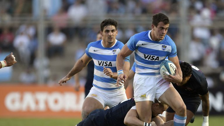 Emiliano Boffelli will start on the wing against South Africa
