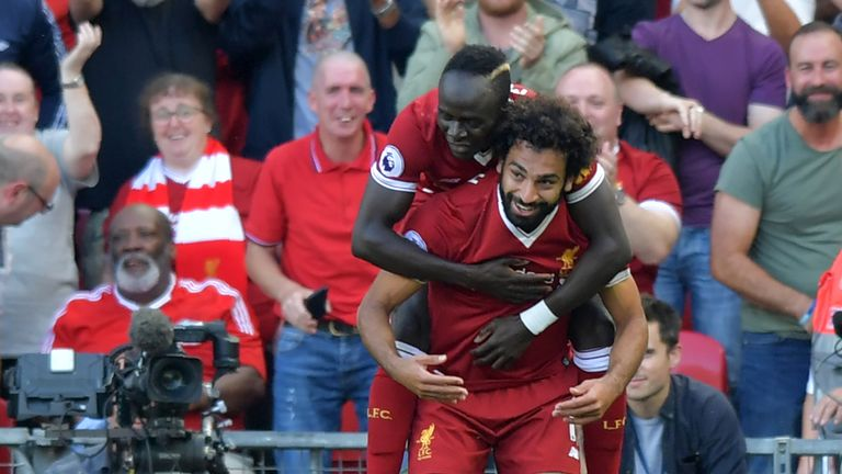 Mane says Salah has been unbelievable for Liverpool
